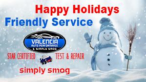 Valencia Auto Performance – Winter Deal