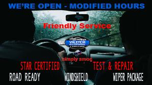 Modified Hours – Valencia Auto Performance & Simply Smog