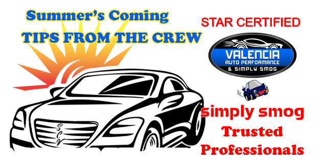 Summer's Coming – Car Tips From The Crew