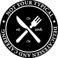 not your typical deli logo