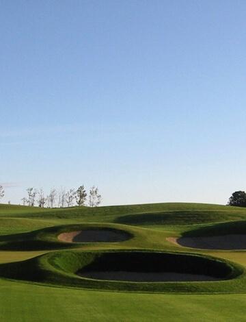 Poa Triv on a golf course