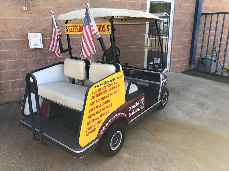 CHL2 Golf Cart Back