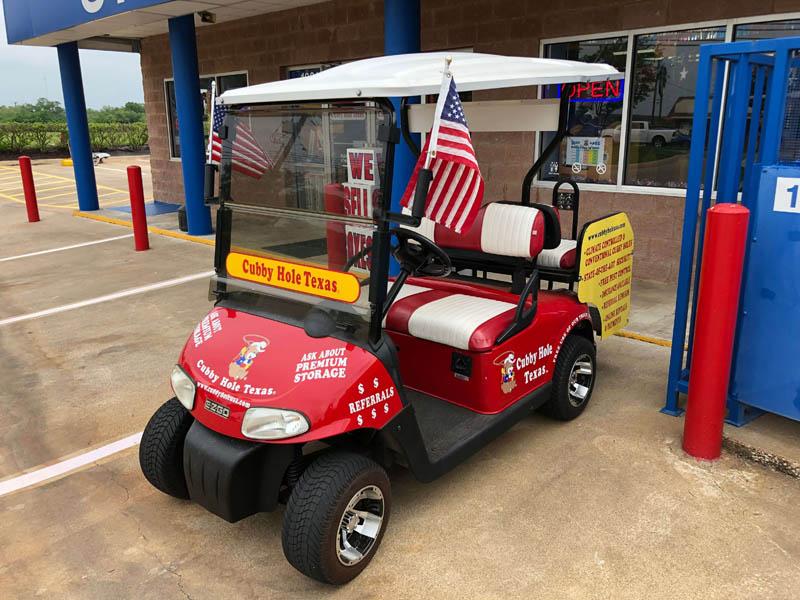 CHT2 Golf Cart Front