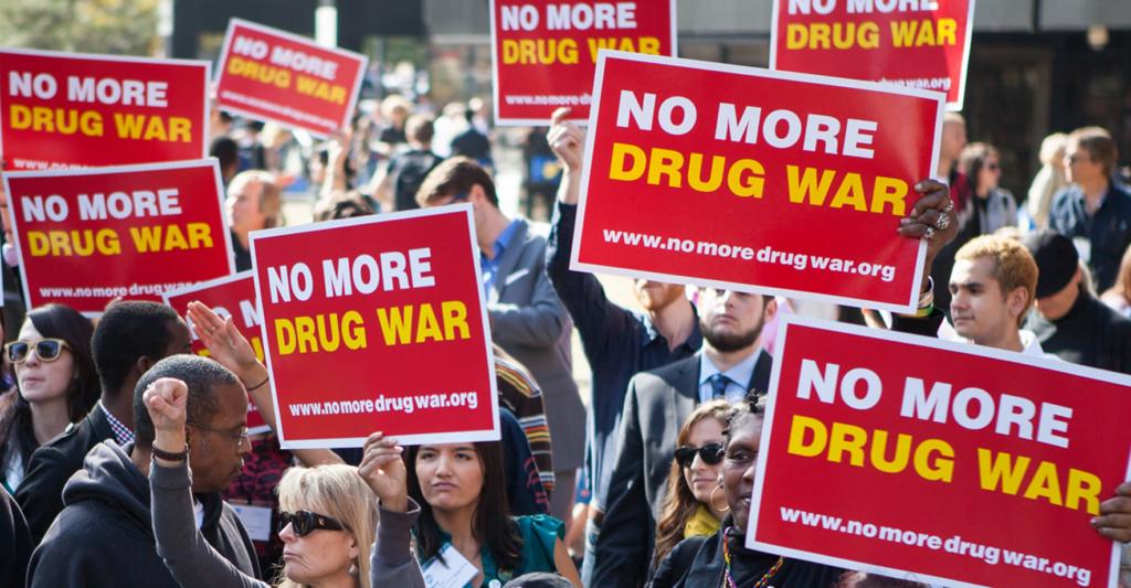 No More Drug War Rally