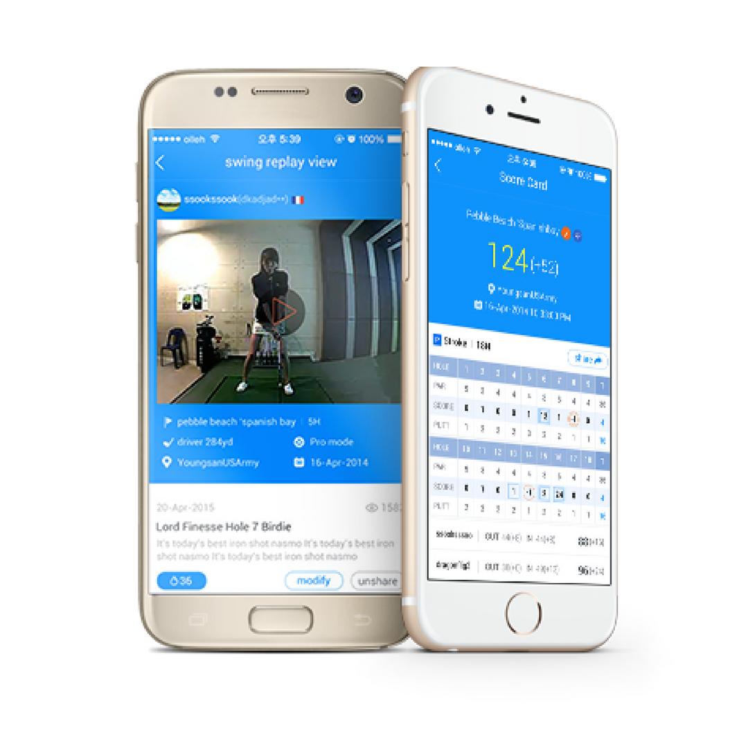 Golfzon App | Swing Zone Golf