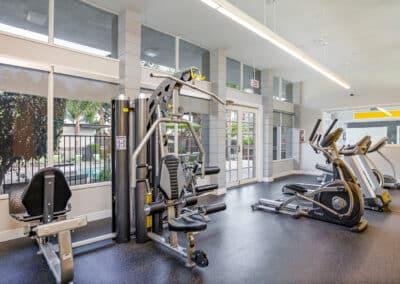 Summerwood apartments fitness area