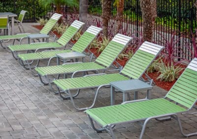 Summerwood Green Pool Chairs