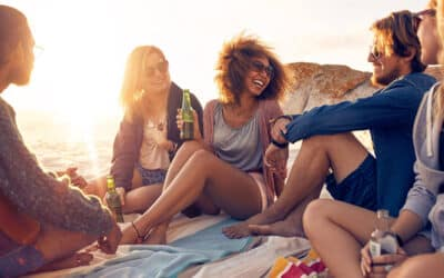 Four Beach Games to Play With Your Roomies this Summer
