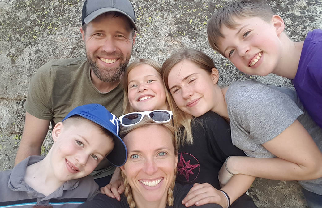 karen manthey and family
