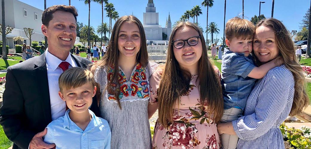 karen stapley and her family