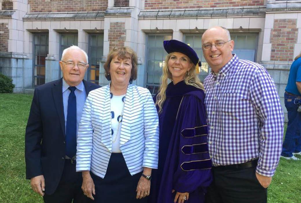 Dr. Ruby Dawn Lyman at Graduation