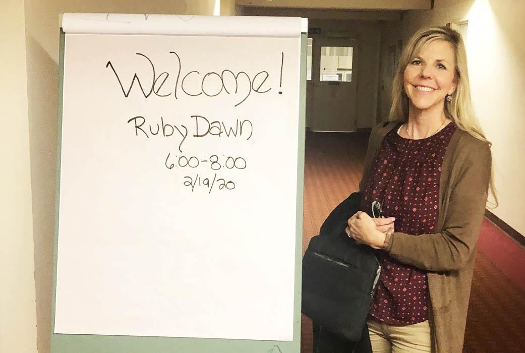 Dr. Ruby Dawn Lyman teaching