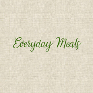 Everyday Meals