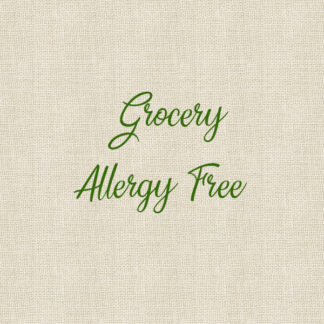 Grocery - Allergy Free