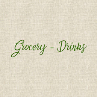 Grocery - Drinks