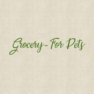 Grocery - For Pets