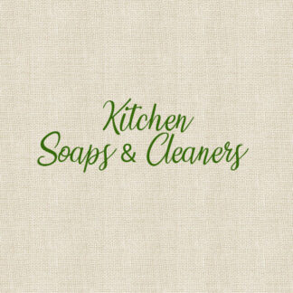 Kitchen Soaps & Cleaners