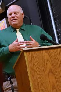 Superintendent Mark Steele