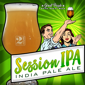 RE-RELEASE: SESSION IPA @ 2 Silos Brewing