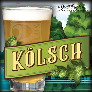 NEW: KÖLSCH @ 2 Silos Brewing