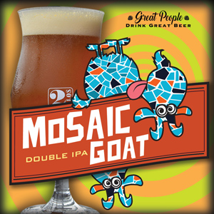 NEW: MOSAIC GOAT @ 2 Silos Brewing