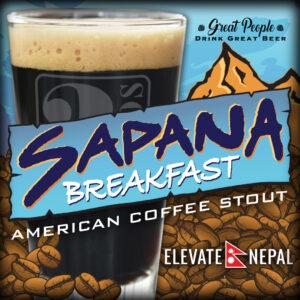 NEW BEER RELEASE: SAPANA BREAKFAST