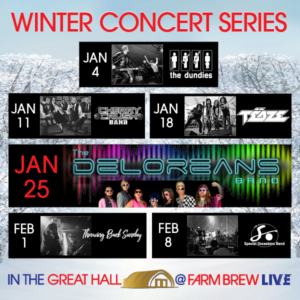WINTER CONCERT SERIES: Throwing Back Sunday