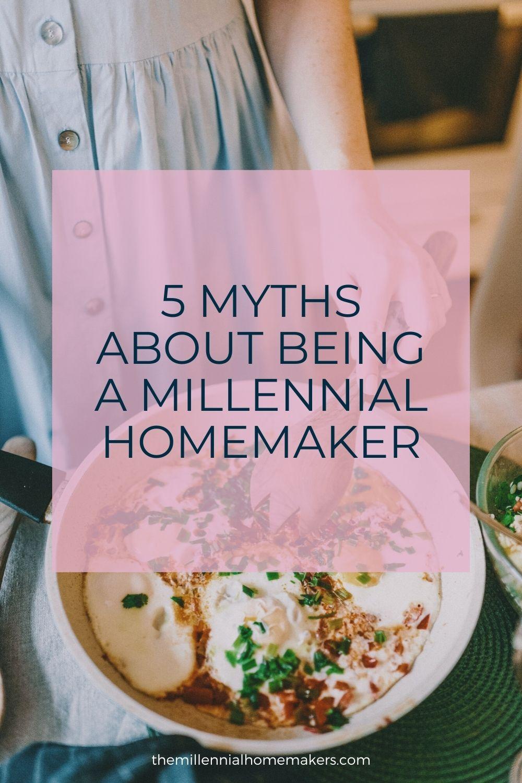 a millennial homemaker showing off her latest dinner
