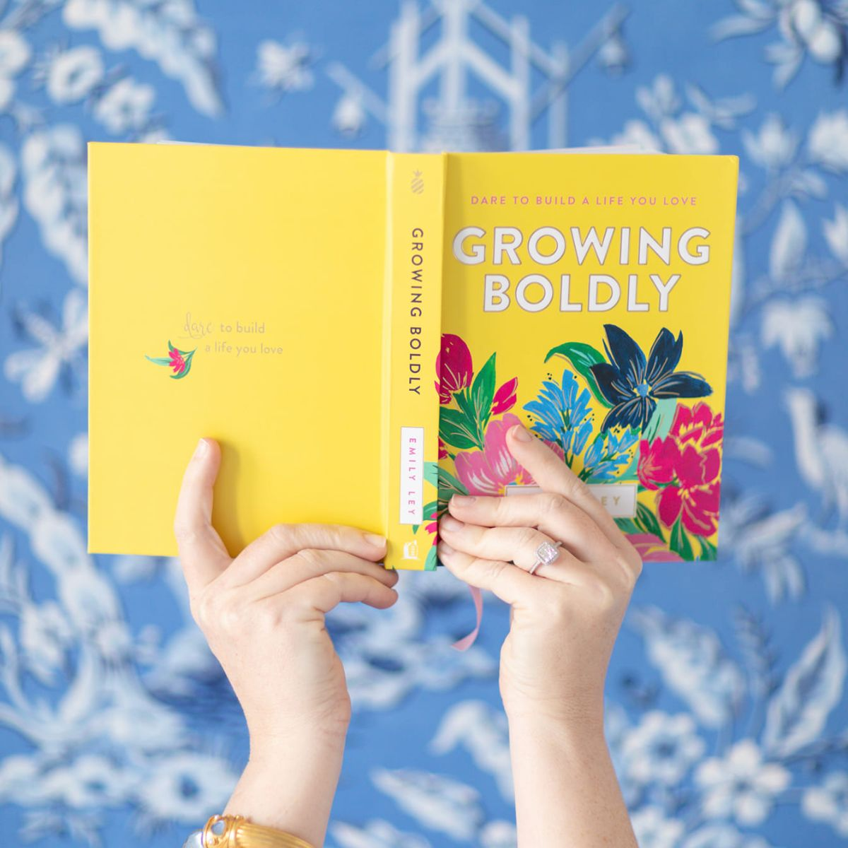 cover of growing boldly with emily ley