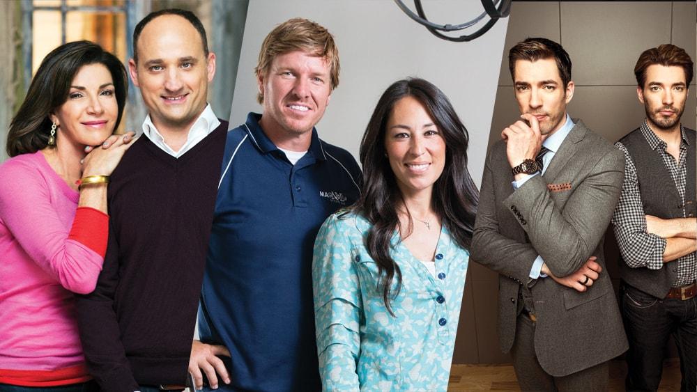 Popular HGTV hosts