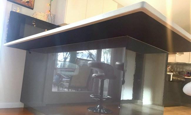 heated countertop