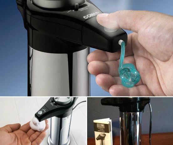 automatic shaving cream dispensing machine