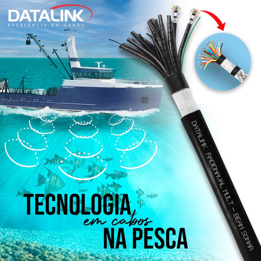 Tecnologia em cabos na pesca!