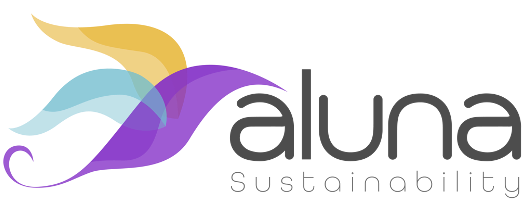 Aluna Sustainability logo