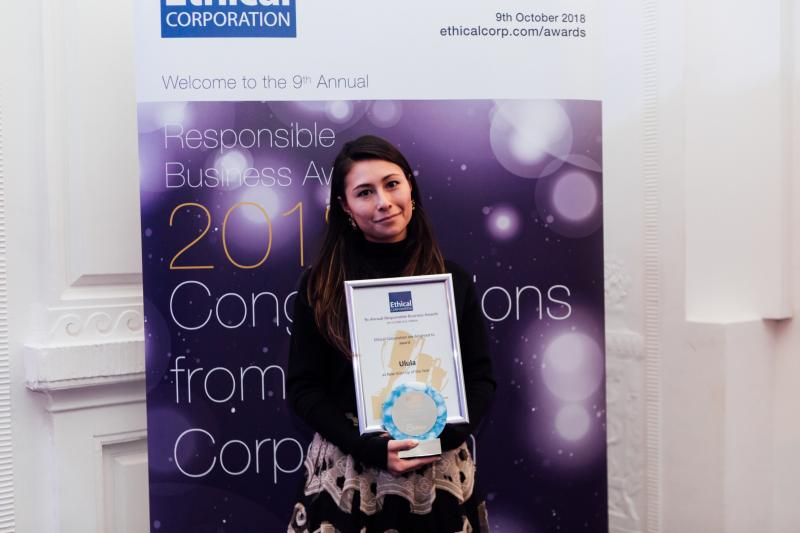 """Ulula announced """"Start-Up of the Year"""" by the Ethical Corporation Awards"""