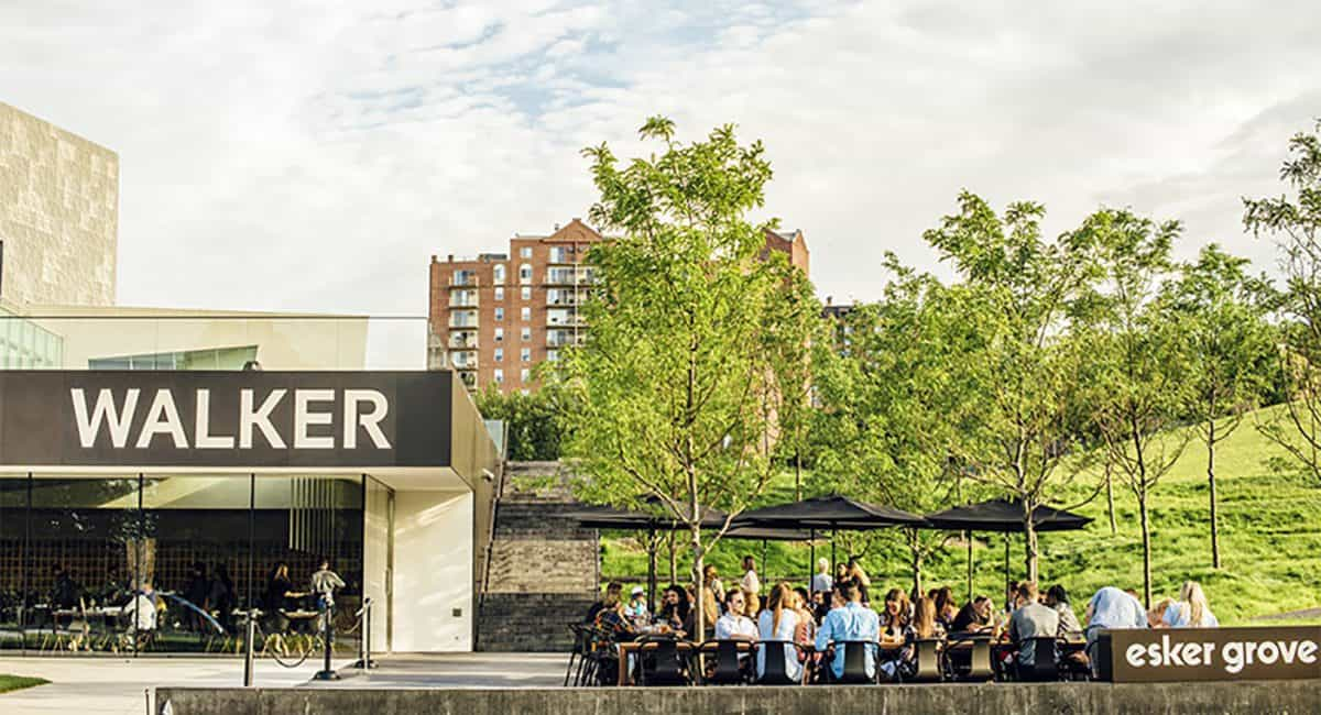Esker Grove at the Walker Art Center