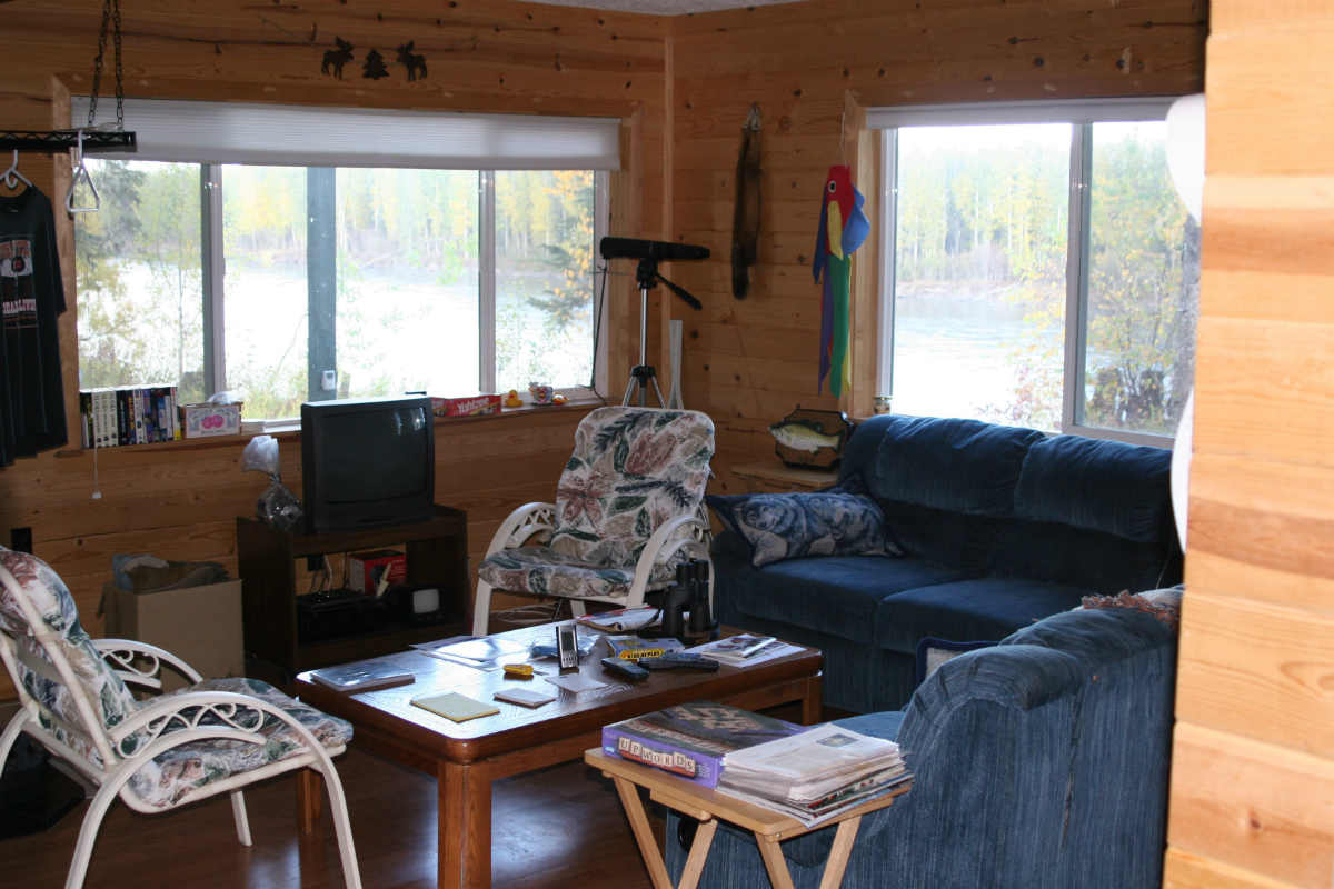 Living room of the lodge