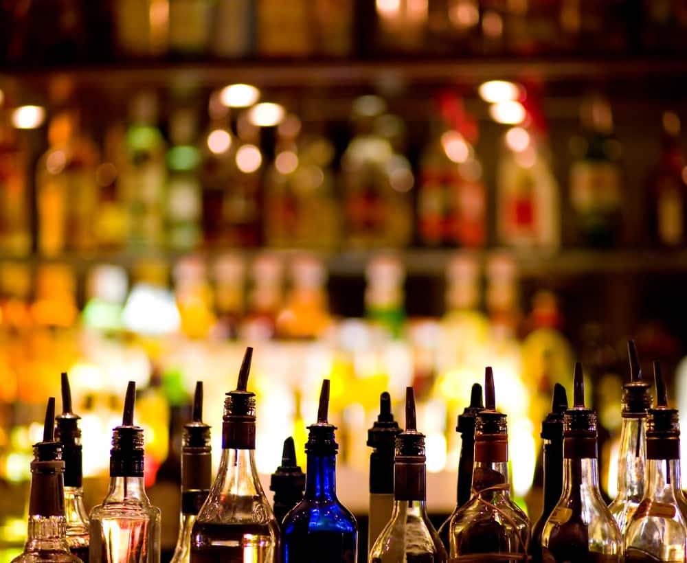 Alcoholic Beverage Control CA | Liquor License Consulting CA | Images of top shelf liquor at a bar