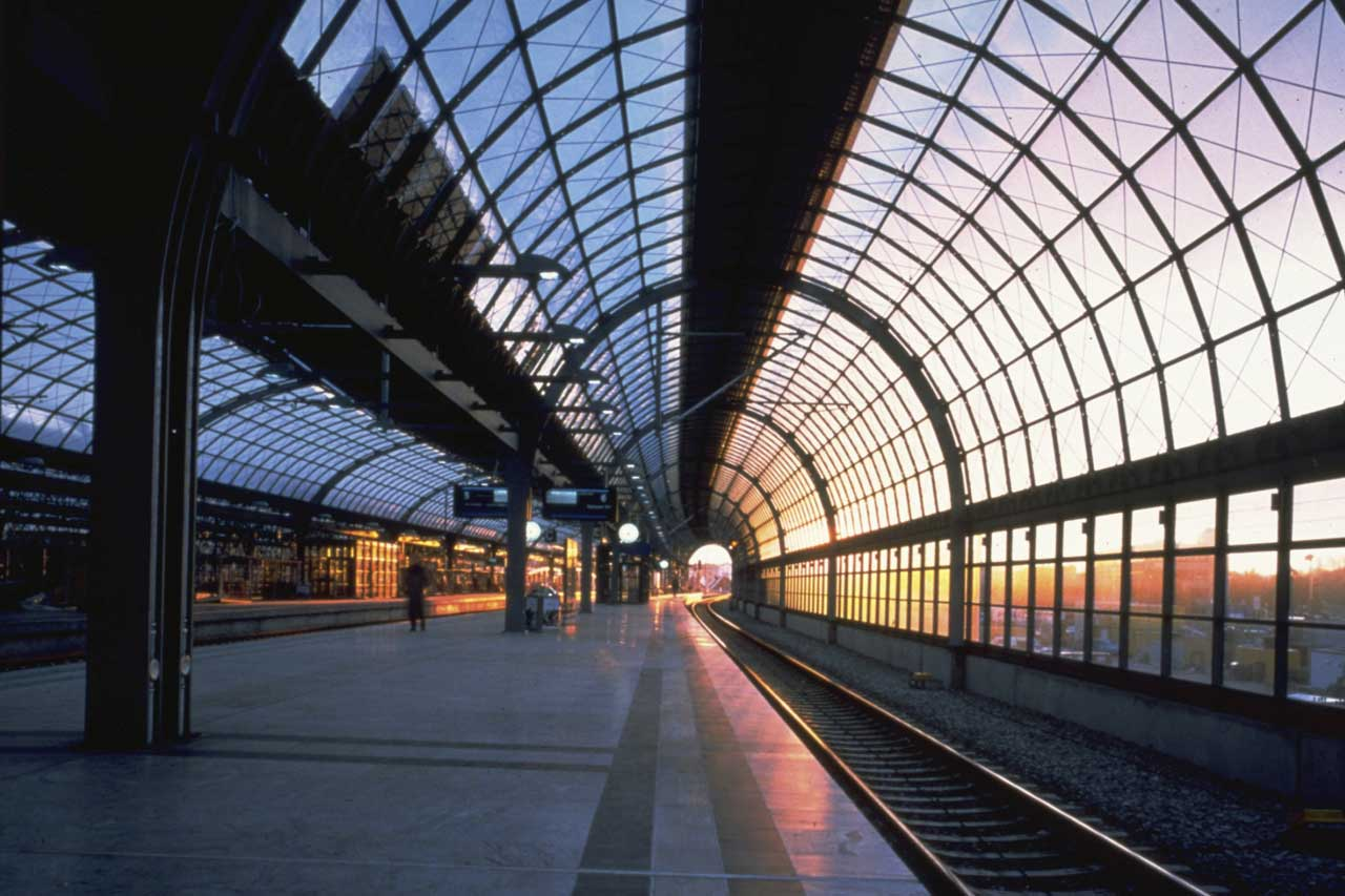 Bus and Train stations