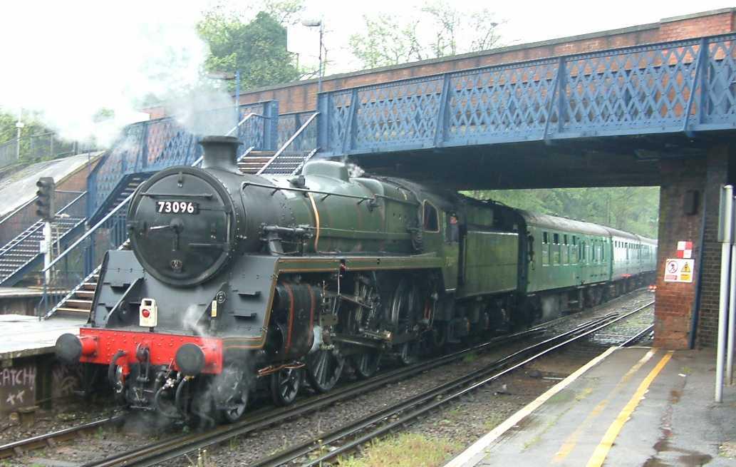 Steam locomotive, England