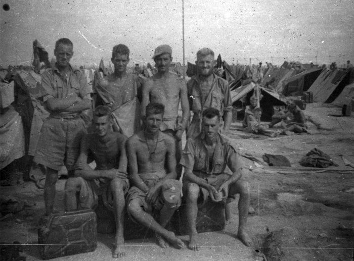 POW camp 116, Benghazi, Libya, 1942