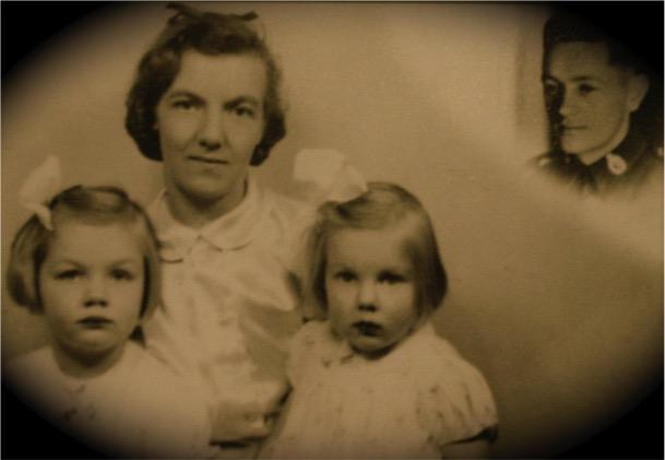 Robert and Doris Otterson family, 1942