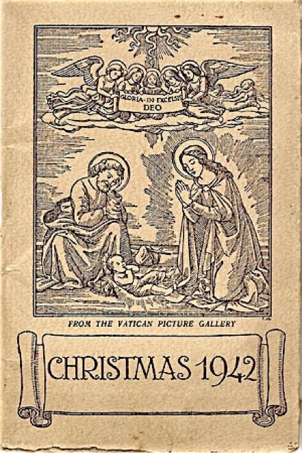 Papal Nuncio diary given to POWs