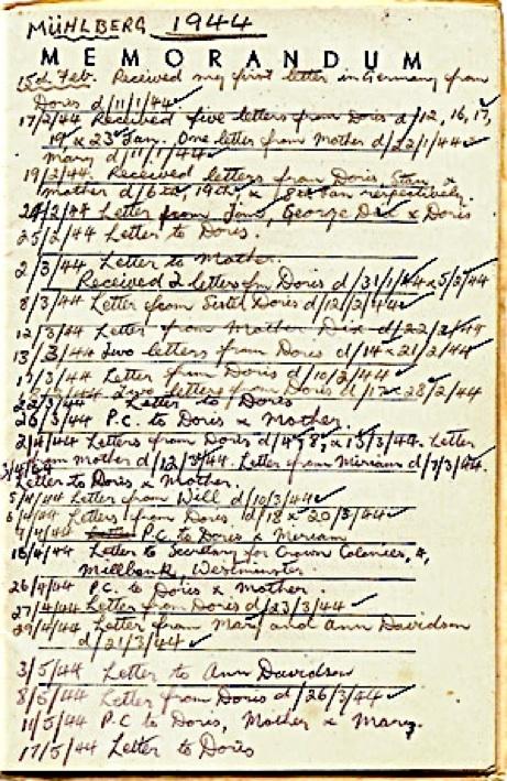 POW diary 1944