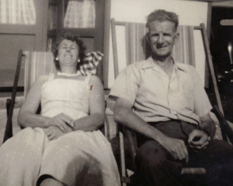 Photo from Harris family album.