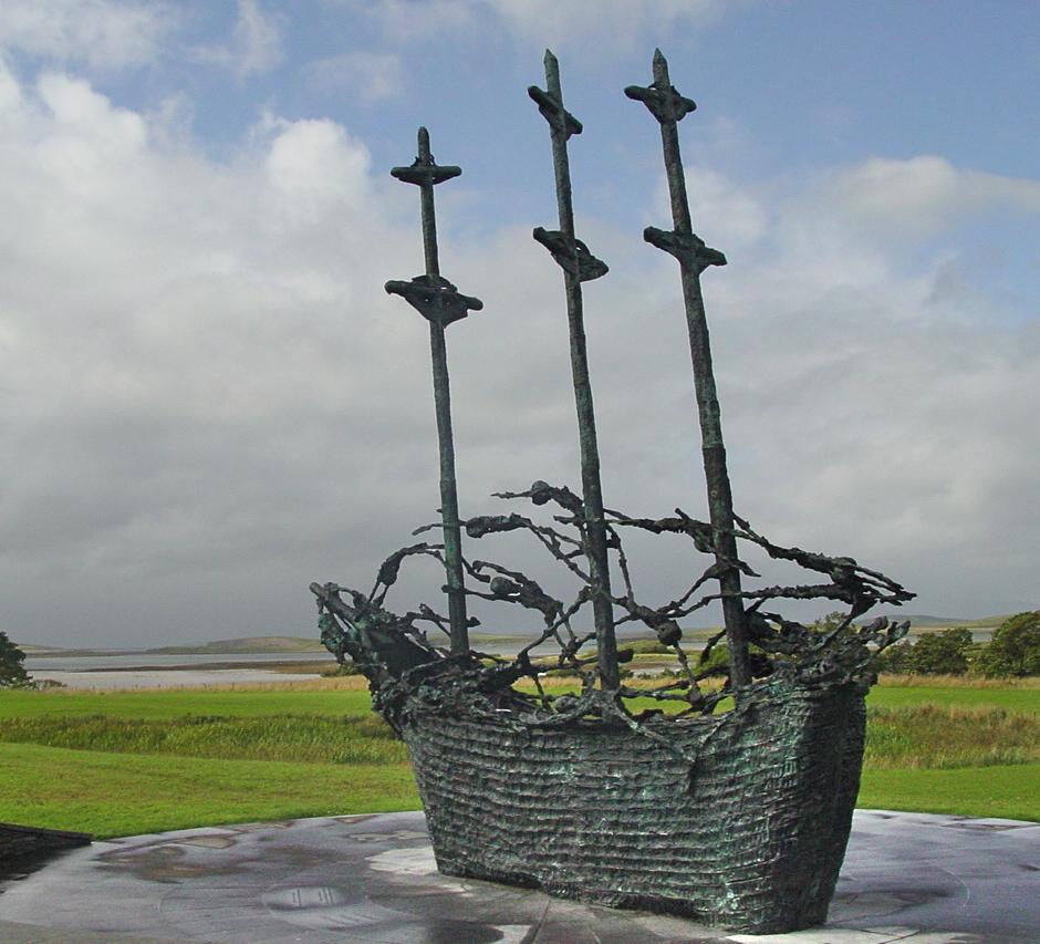 Ireland, Mayo, coffin ship