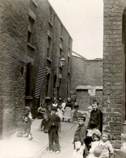 Liverpool Ford Street 1800s