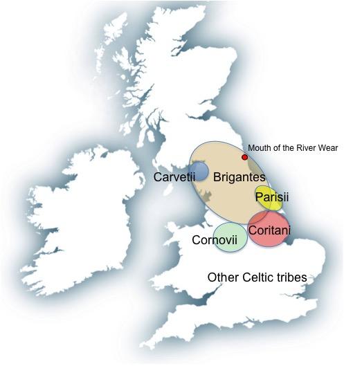 Celtic Britain map