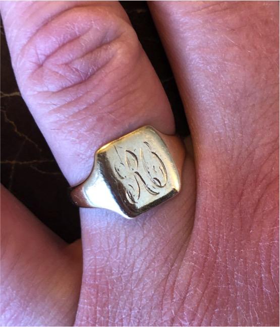 Robert Otterson wedding ring