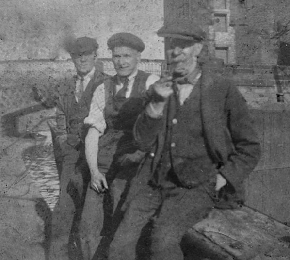 Edward Berry with Sam Dawson and Eddie Berry